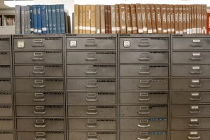 Arquivos com Fichas Cadastrais